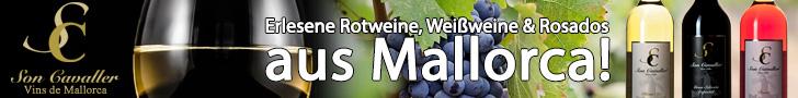 Mallorca Weine, Rotwein, Weißwein, Rose, Erlesene Weine