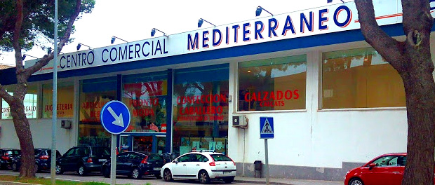 Mediterraneo, Einkaufs-Center